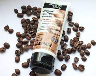 KEM TẨY DA CHẾT Ở MẶT ORGANIC COFFE