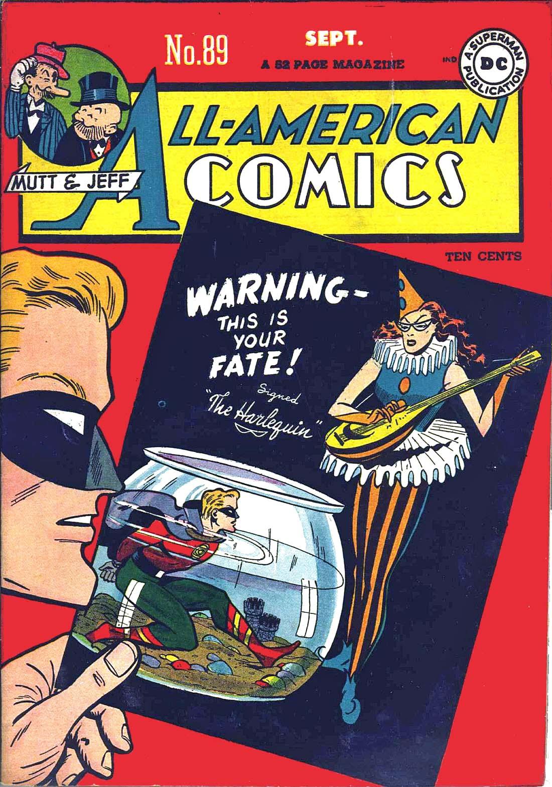 Read online All-American Comics (1939) comic -  Issue #89 - 1