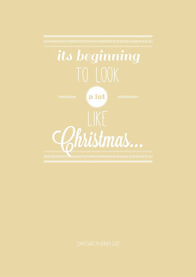 2013 Sunshine Christmas Planner
