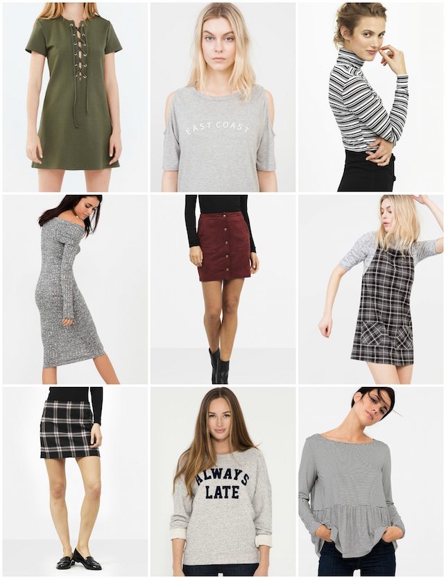 Nobody's Child, Brandy Melville, wishlist, wish list, fashion, style, brand, brand highlight, tartan, basics