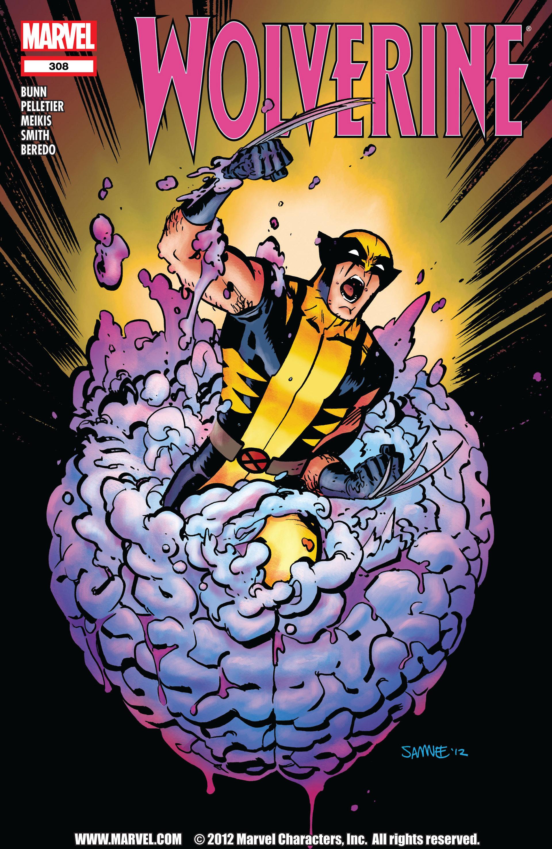 Wolverine (2010) 308 Page 1