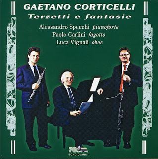CORTICELLI, G. - Terzetti  Fantasie