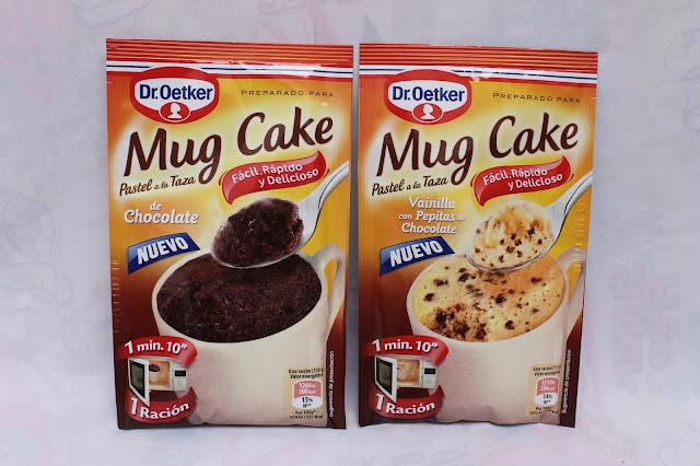Mug cakes de Dr Oetker