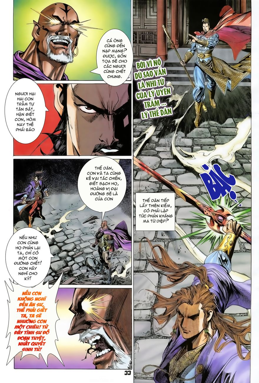 Đại Đường Uy Long chapter 74 trang 33