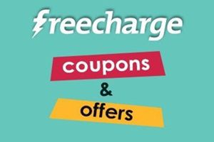 Freecharge Coupons, cashback Offers, on Recharge, billpayments