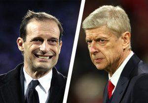 Juventus speak on Allegri replacing Wenger at Arsenal