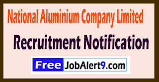 NALCO National Aluminium Company Limited Recruitment Notification 2017 Last date 01-07-2017