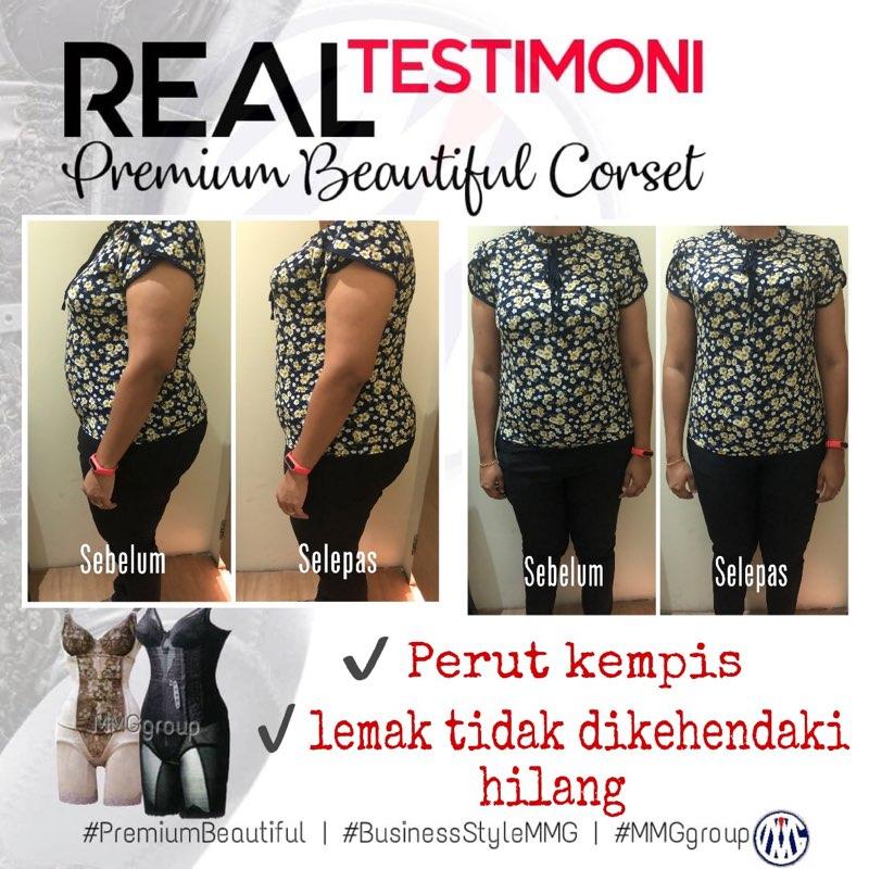 testimoni Premium Beautiful perut kempis