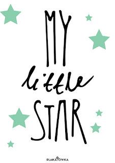 gwiazda plakaty do druku