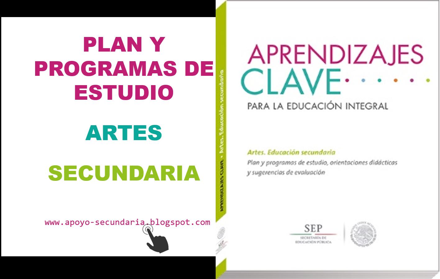 Plan y Programa de Estudio de Artes