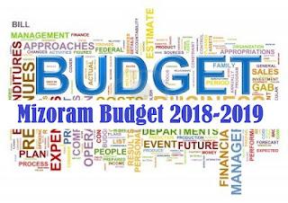 PRISM Leh Mizoram Budget 2018-2019