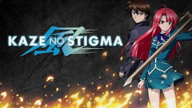 Kaze no Stigma - Daftar Rekomendasi Anime Action Romance Terbaik