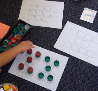 Counting 10 mats (Brick by Brick)