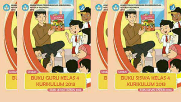 Buku Kurikulum 2013 Kelas 4 SD/MI Semester 2 Edisi Revisi 2016