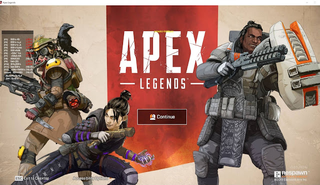 19 Maret 2019 - Gate 6.0 Fix New SPEEDHACK Mode V6! Daily UPDATE! Apex Legends PC Cheats Wallhack, ESP, Aimbot and No Recoil FREE