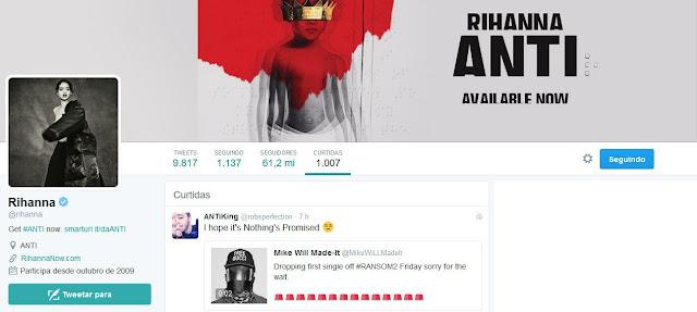 Rihanna podría lanzar una nueva canción este viernes.