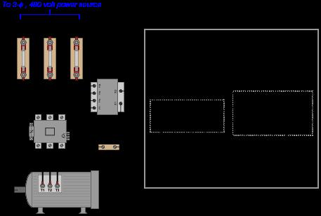 electric motor control wiring diagram motor control wiring diagrams ac motor control circuits - eee community