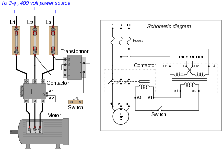 AC Motor Control Circuits  EEE COMMUNITY