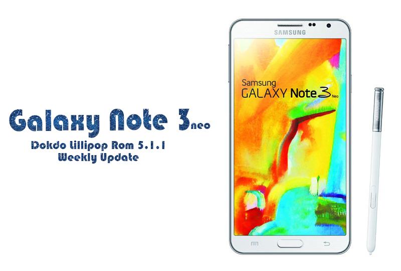 Note 3 Neo Rom
