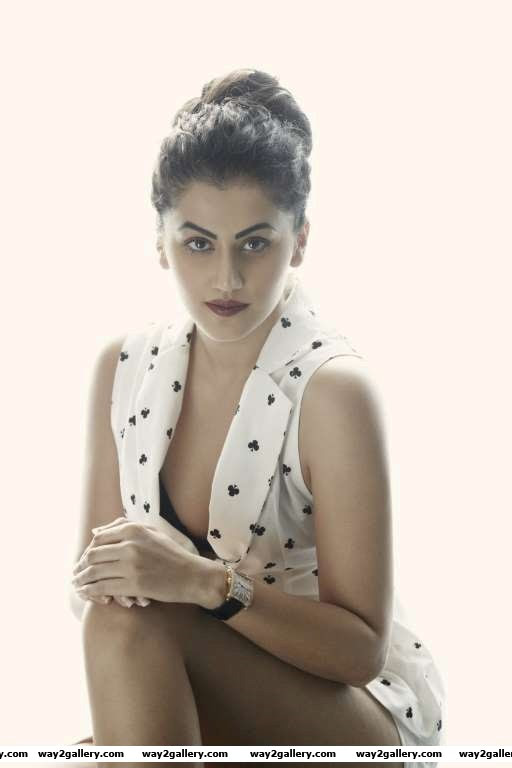 In  she also made her foray into Bollywood in Chashme Badoor Taapsee also featured in the recent Akshay Kumar starrer BabyShell next be seen in the Hindi film Running Shaadicom