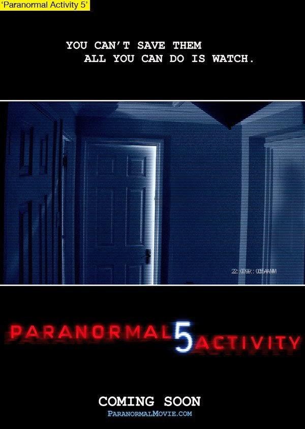 Paranormal Activity 5 The Ghost Dimension พารานอร์มอล แอคทิวิตี้ 5 เรียลลิตี้ ขนหัวลุก 5  [HD]