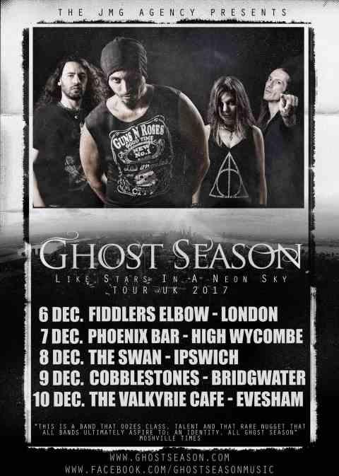 Οι Ghost Season σε βρετανική περιοδεία
