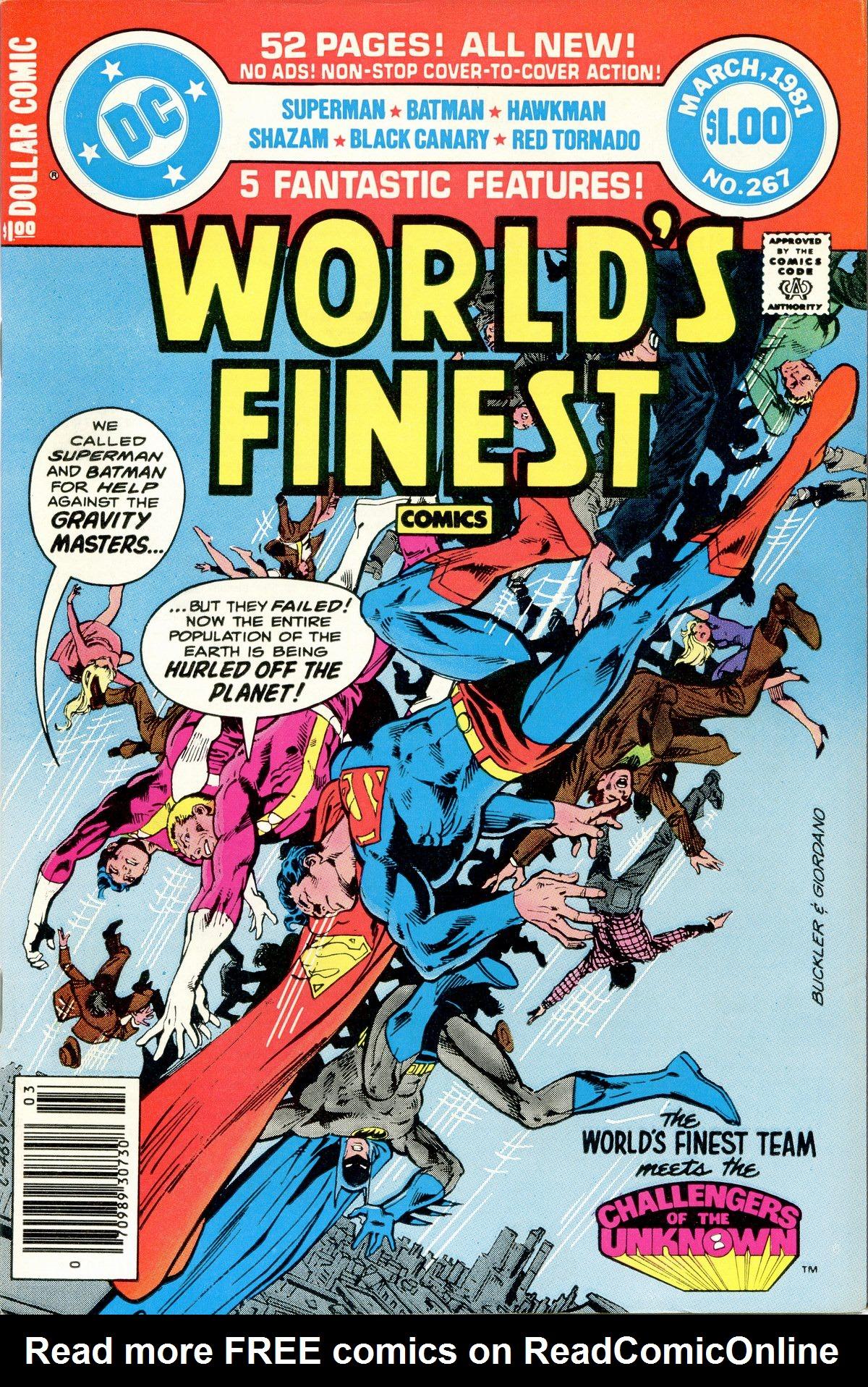 Read online World's Finest Comics comic -  Issue #267 - 1