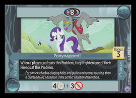 My Little Pony Ponynapped! Premiere CCG Card