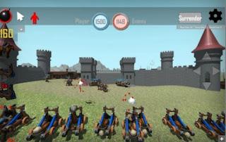 Game Medieval battles 3D App