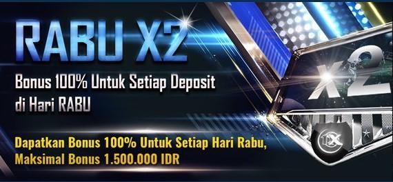 Cara Menebus Bonus Rabu X2 Di 1xbet Indonesia