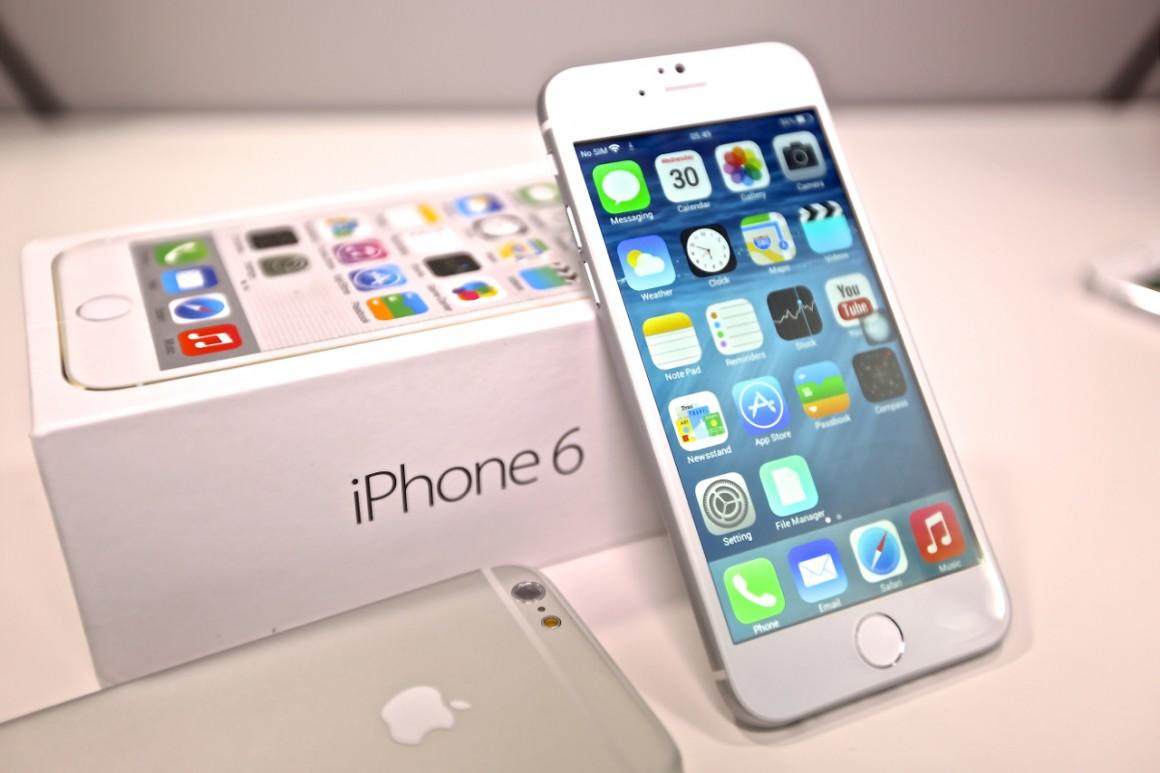 Dấu hiệu màn hình iPhone 6 bị hỏng