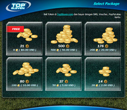 Token Gratis Top Eleven di Facebook