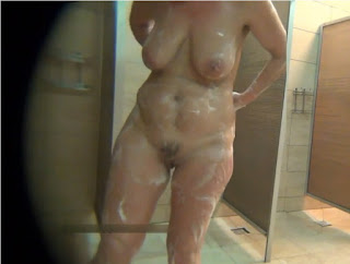 Hidden cam milf in the shower