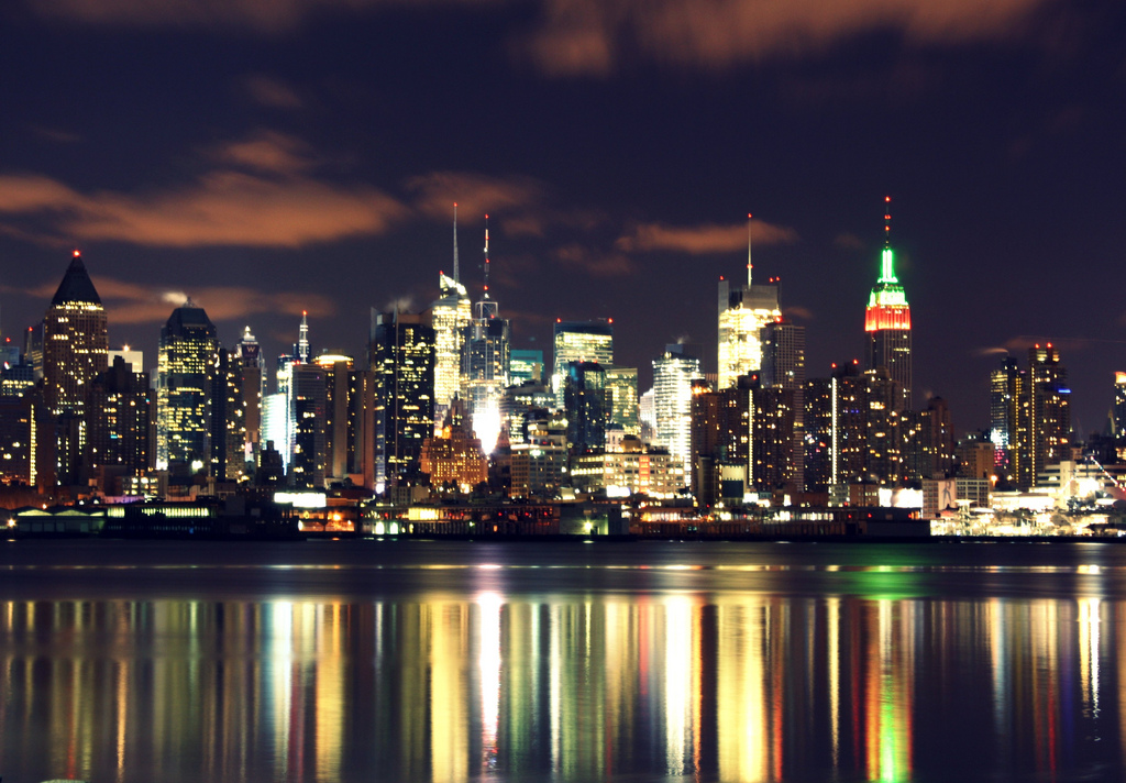 World Most Popular Places New York City At Night