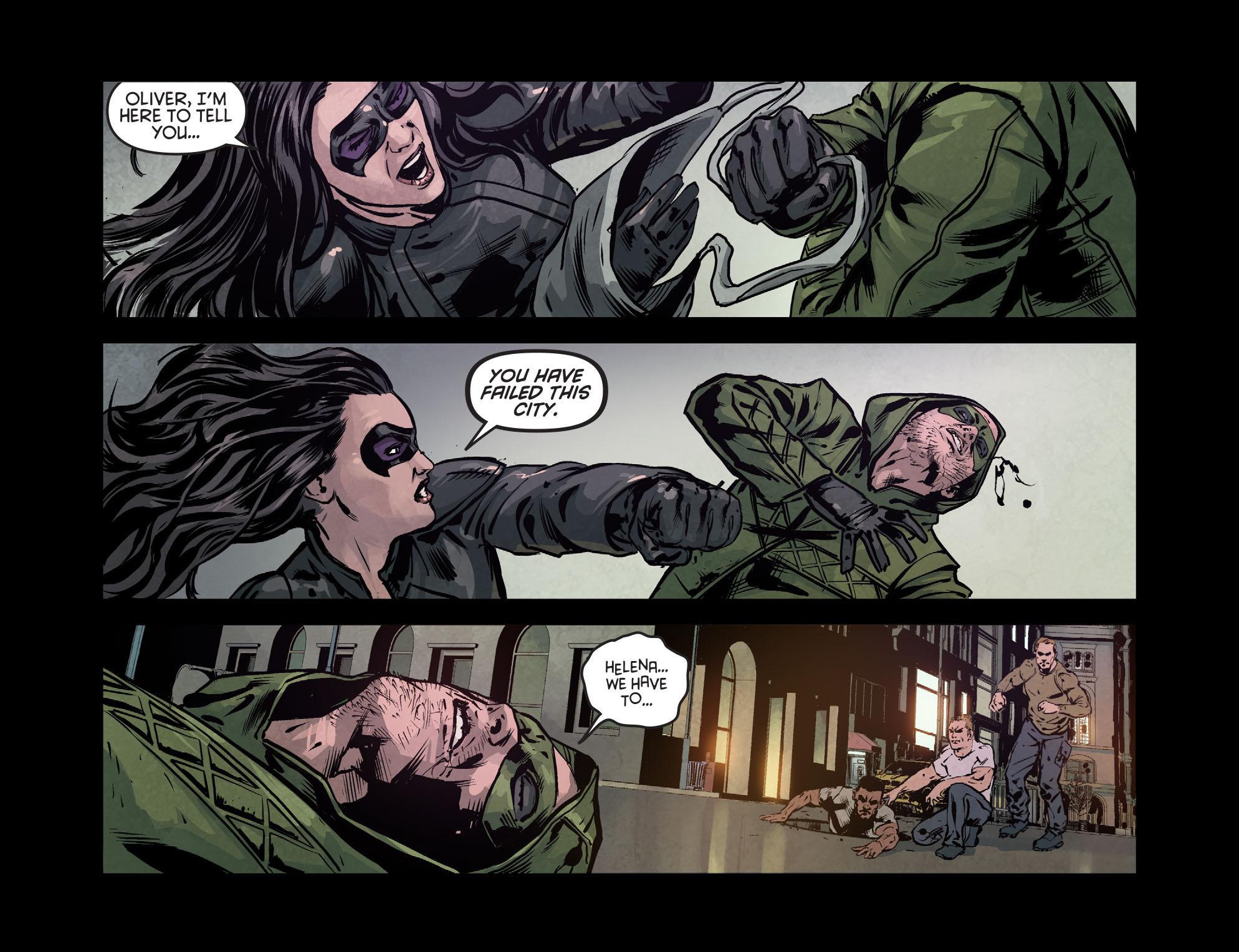 Read online Arrow: Season 2.5 [I] comic -  Issue #7 - 7