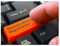domain registration button on the keyboard