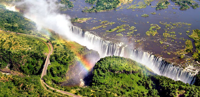 Victoria Falls Sebagai Wisata (Air Terjun) Utama di Afrika Selatan