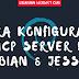 Cara Konfigurasi DHCP Server Di Debian 8 Jessie Lengkap