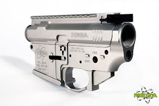 Mega Arms Lower Receiver Set in Nickel Boron Finish