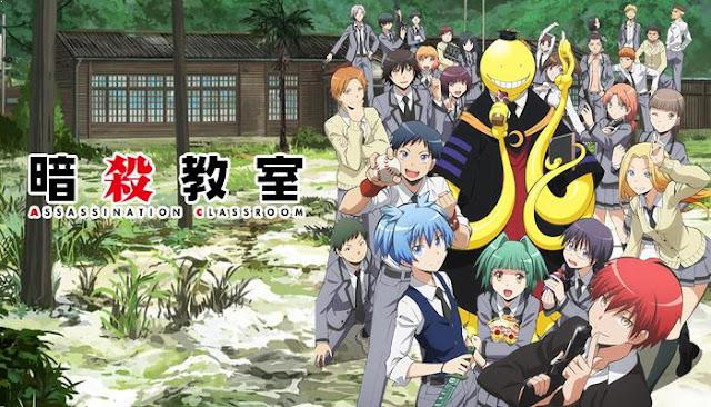 Daftar Anime School Comedy Terbaik dan Terpopuler - Ansatsu Kyoushitsu