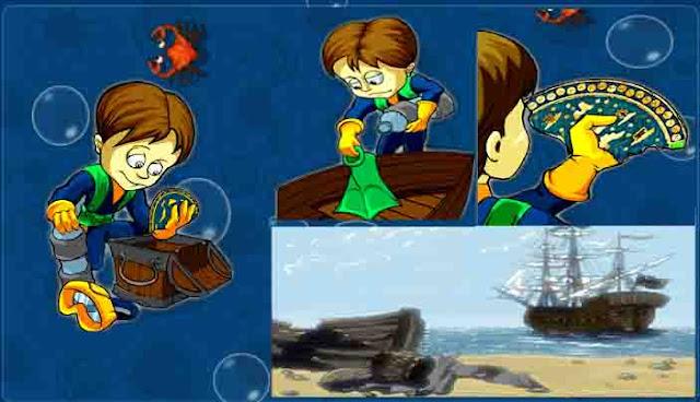 صورة توضيحية 1 للعبة هجوم القرش - تحميل العاب مجانا