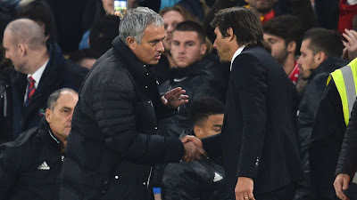 Image of Conte and Mourinho