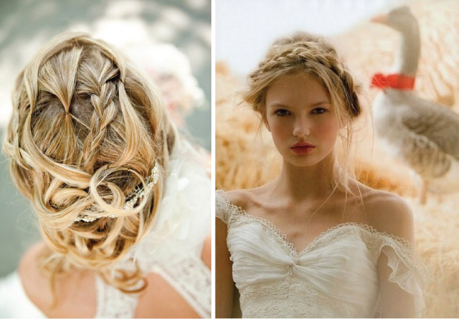 Your Wedding Support: Plaits - Wedding Hair