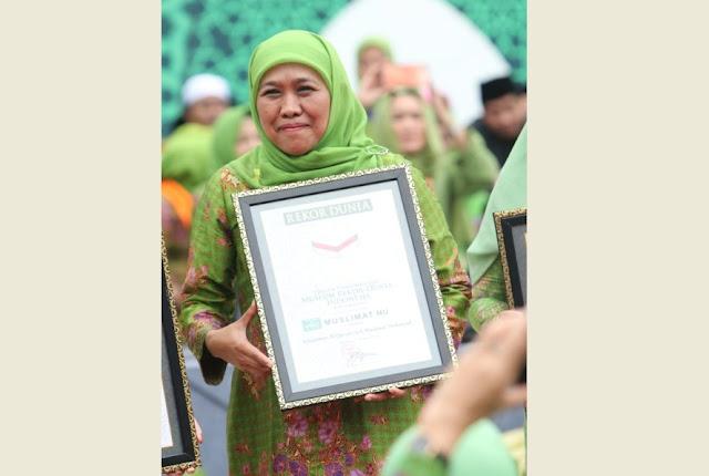 Keren! Muslimat NU Torehkan Tiga Rekor Dunia di GBK