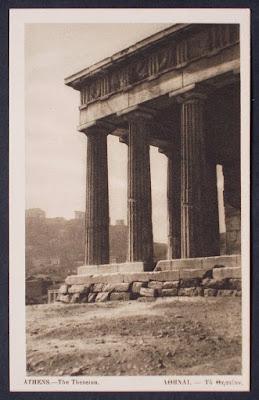 Grecia - cartoline degli anni '40 e '50 - collezionismo - annunci