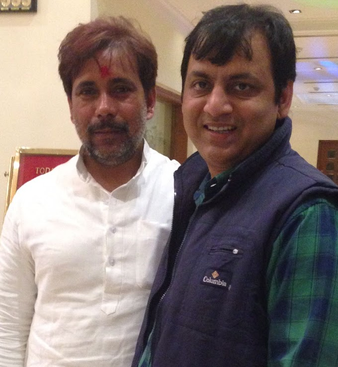 #JaunpurLive : अनिल राजभर को पुष्पेंद्र ने दी बधाई