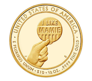 United States Gold Coins Mamie Eisenhower 10 Dollars First Spouse Gold Coin