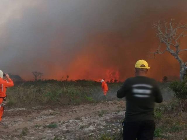 Chapada: Queimada atinge região do gerais no município de Rio de Contas