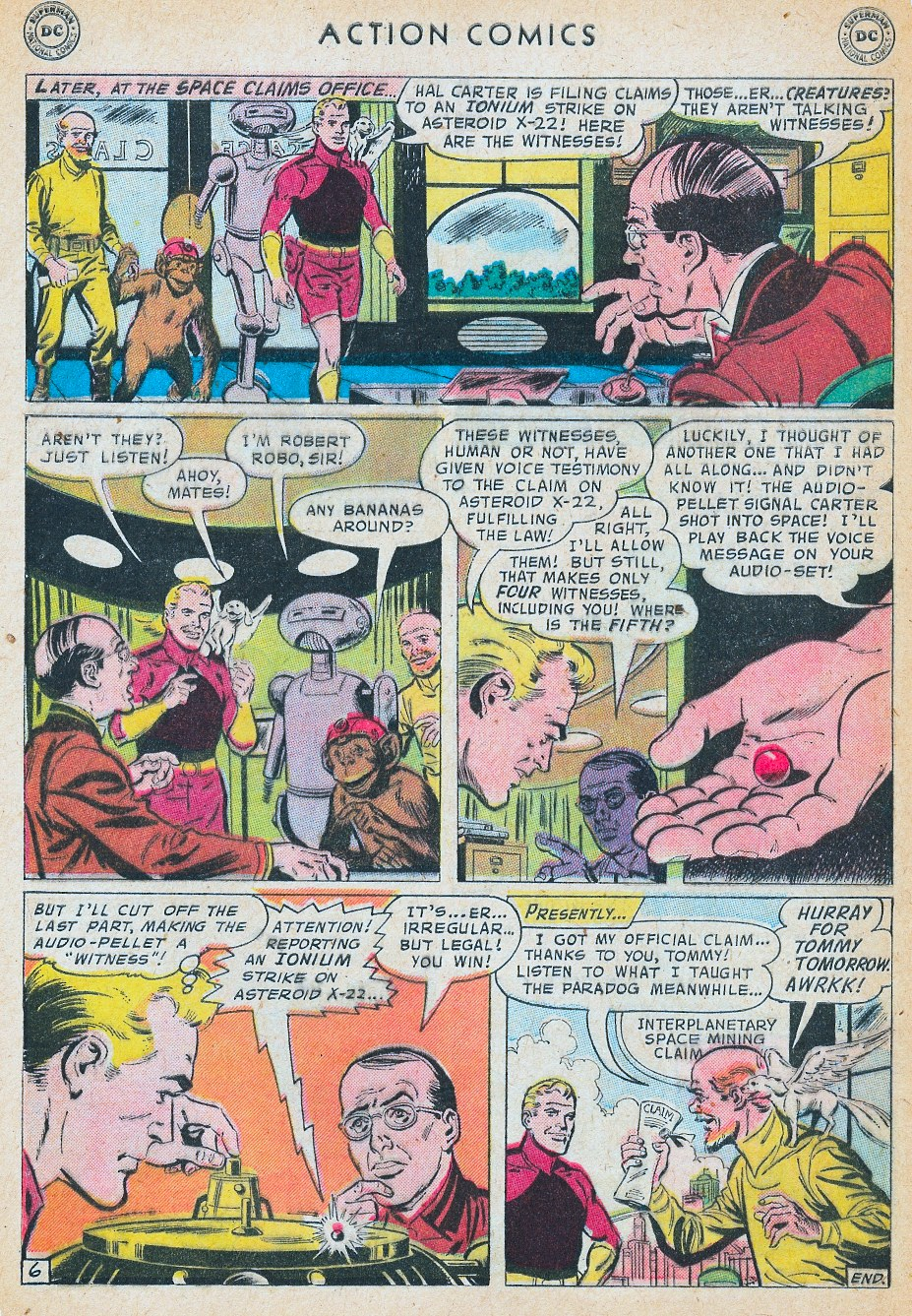 Read online Action Comics (1938) comic -  Issue #241 - 32