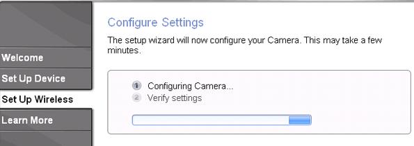 Configure WVC80N